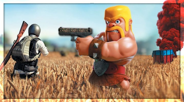 PUBG vs  Clash of Clans - Best Game From Google Play Store
